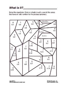 What is It? Worksheet