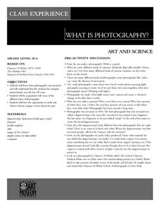 What Is Photography Lesson Plan