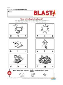 What is the Beginning Sound? Lesson Plan