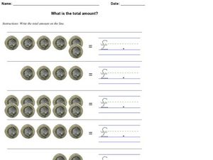 What is the Total Amount? Pounds Worksheet
