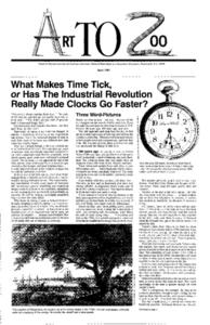 What Makes Time Tick, or Has the Industrial Revolution Really Made Clocks Go Faster? Lesson Plan
