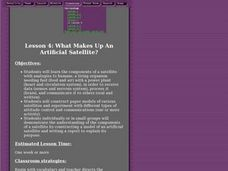 What Makes Up An Artificial Satellite? Lesson Plan