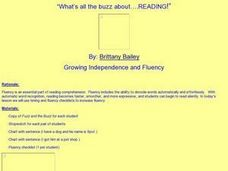 What's All the Buzz about .... Reading! Lesson Plan