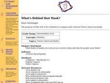 What's Behind that Mask? Lesson Plan