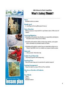 What's Eating Titanic? Lesson Plan