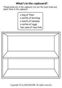 What's in the Cupboard? Lesson Plan