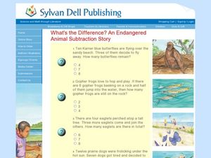 What's the Difference? An Endangered Animal Story Worksheet