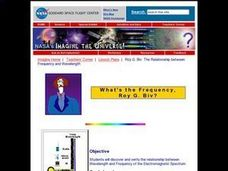 What's the Frequency, Roy G. Biv? Lesson Plan