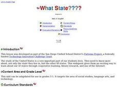 What State???? Lesson Plan
