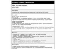 What to Do with Leftovers Lesson Plan