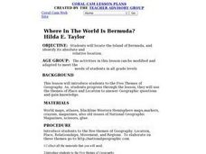 Where In The World Is Bermuda? Lesson Plan