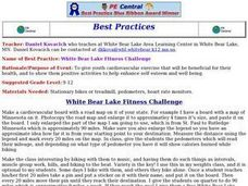 White Bear Lake Fitness Challenge Lesson Plan