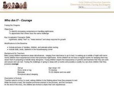 Who Am I? - Courage - Facing the Dragons Lesson Plan