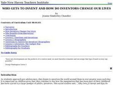 Who Gets to Invent and How Do Inventors Change Our Lives? Lesson Plan
