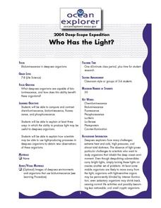 Who Has the Light? Lesson Plan
