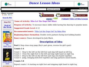 Who Let The Dogs Out Mixer Lesson Plan