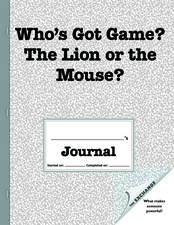 Who's Got Game? The Lion or the Mouse? Worksheet