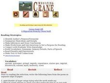 Whooping Crane Lesson Plan