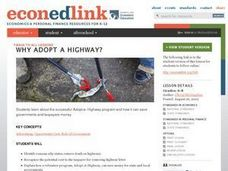 Why Adopt a highway? Lesson Plan
