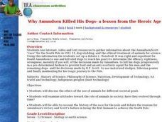 Why Amundsen Killed His Dogs Lesson Plan