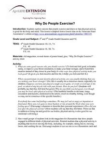 Why Do People Exercise? Lesson Plan