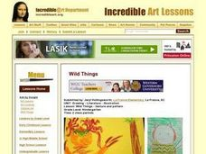 Wild Things - Texture And Pattern Lesson Plan