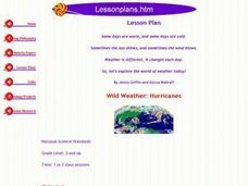 Wild Weather: Hurricanes Lesson Plan