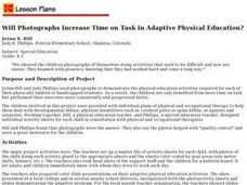 Will Photographs Increase Time on Task in Adaptive Physical Education? Lesson Plan