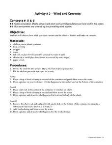 Wind and Currents Lesson Plan