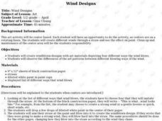 WIND DESIGNS Lesson Plan
