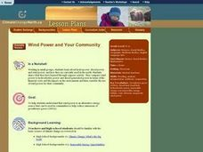 Wind Power and Your Community Lesson Plan