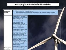 Windmill activity Lesson Plan