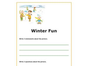 Winter Fun Worksheet