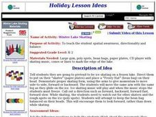 Winter Lake Skating Lesson Plan