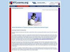 Winter Wonderland: Internet Literature Project Lesson Plan