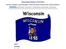 Wisconsin Worksheet