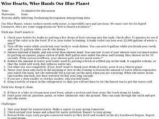 Wise Hearts, Wise Hands Our Blue Planet Lesson Plan