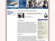 Women's Lives in the Victorian Era Lesson Plan