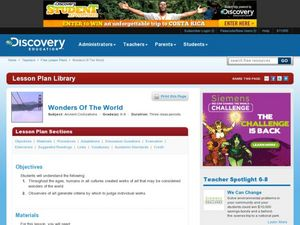 Wonders of the World Lesson Plan