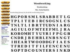 Woodworking Worksheet