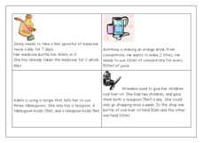 Word Problems Using Metric Measurement Worksheet