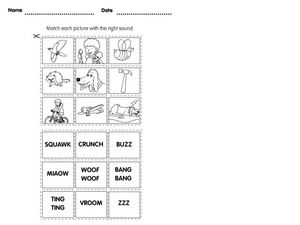 Word Sounds Worksheet