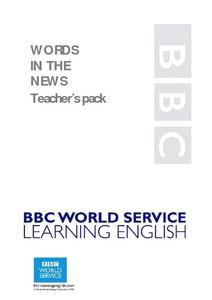 Words In the News Carnival Celebrations Lesson Plan