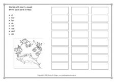 Words With The Short A Sound Worksheet