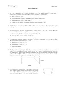 Worksheet 26 - Function Lesson Plan