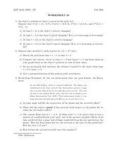 Worksheet 29 Worksheet