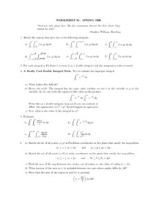Worksheet 35-Spring 1996 Lesson Plan