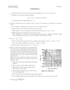 Worksheet 8 - Limit of Slopes Lesson Plan