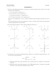 Worksheet 9 - Functions Lesson Plan