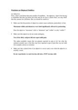 Worksheets Misplaced Modifiers Worksheet worksheet on misplaced modifiers 4th 8th grade modifiers